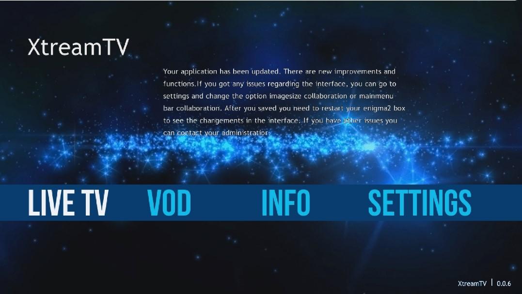 IPTV SUR ENIGMA2 avec le plugin XTREAM TV